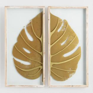 Home Decor Wall Hangings diy wood family scrabble tile wall art so cute Gold Leaf On Glass Diptych Shadowbox Wall Art Set Of 2
