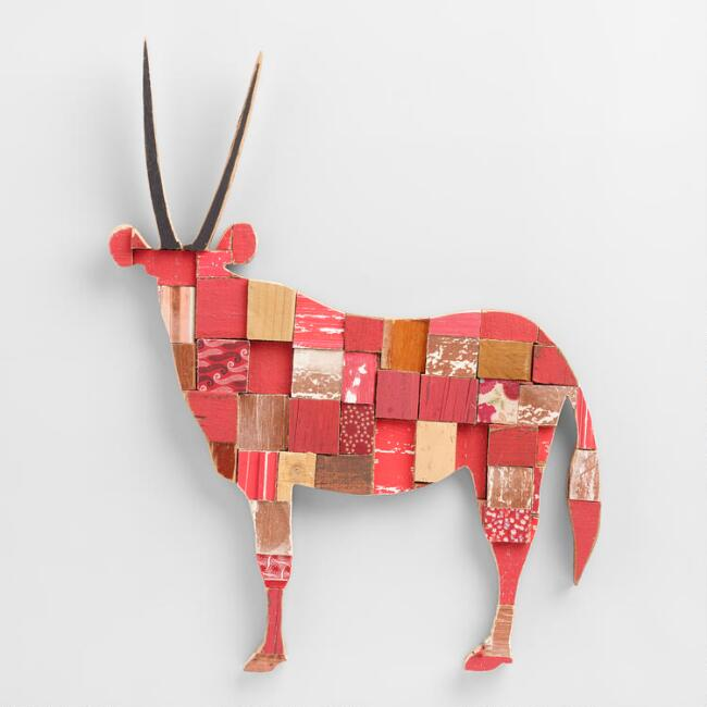 Springbok Red Wall Decor