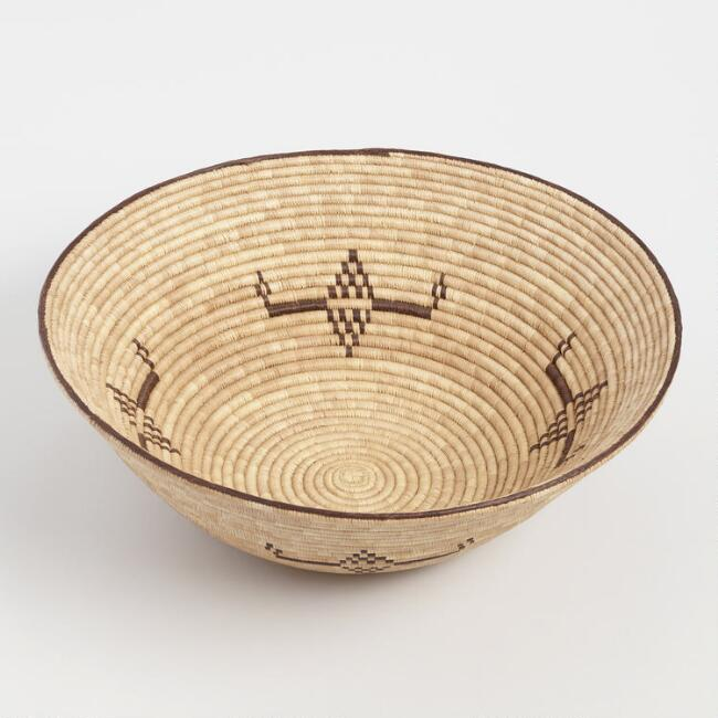 Ridged Bowl Basket