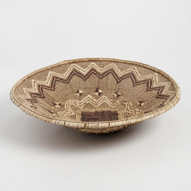 Extra Large Tonga Deep Bowl Basket