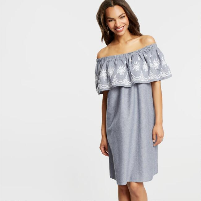 Off The Shoulder Justine Dress