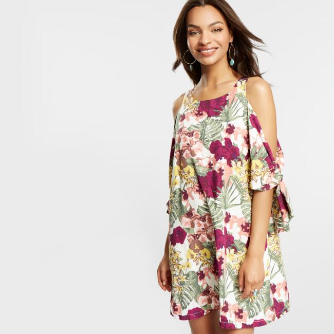 Three Way Orchid Dress