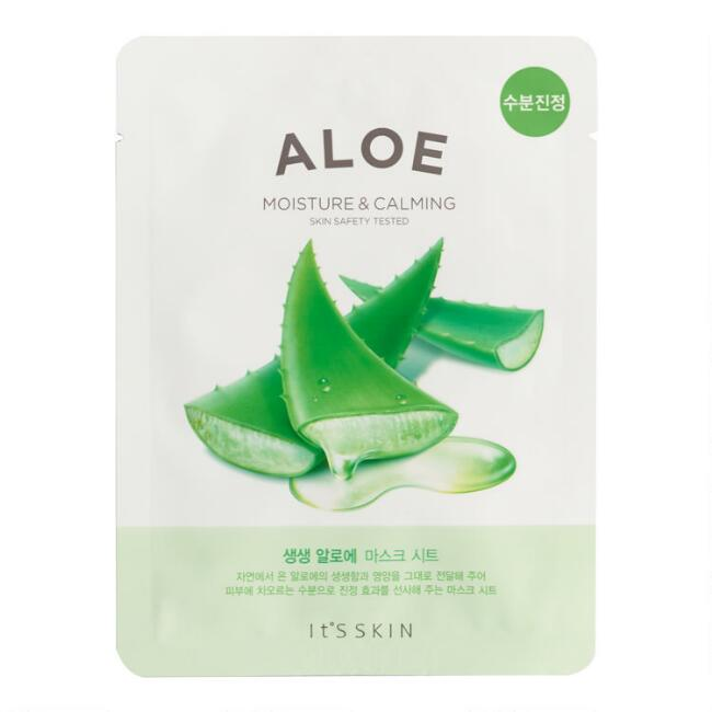It'S SKIN  Fresh Aloe Korean Beauty Mask Set of 2