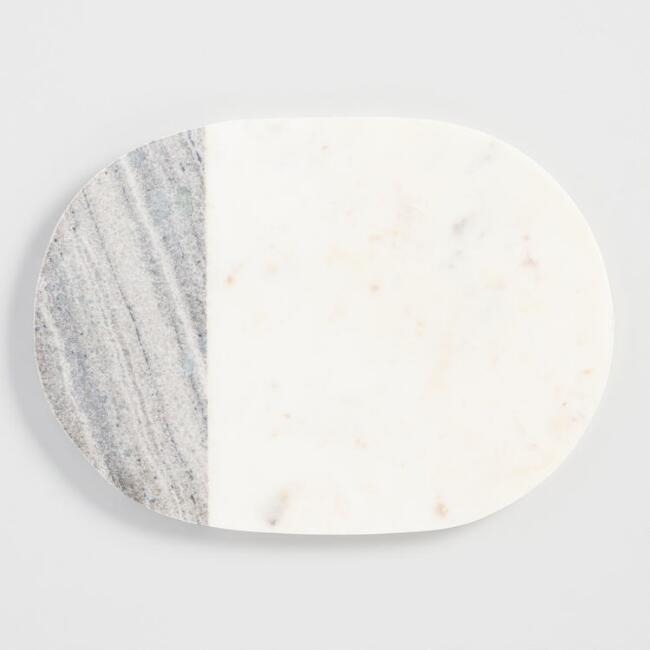 Mixed Marble Cheese Board