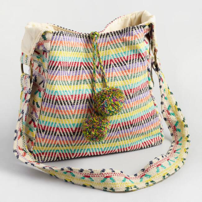 Ivory Multicolor Crossbody Bag