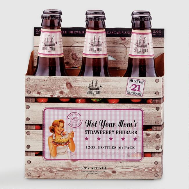 Not Your Mom's Strawberry Rhubarb Beer 6 Pack