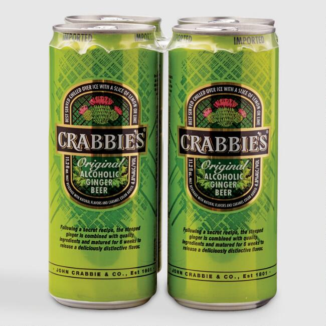 Crabbie's Original Ginger Beer Cans 4 Pack
