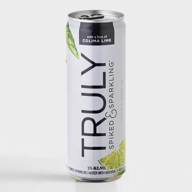 Truly Spiked and Sparkling Colima Lime Hard Seltzer