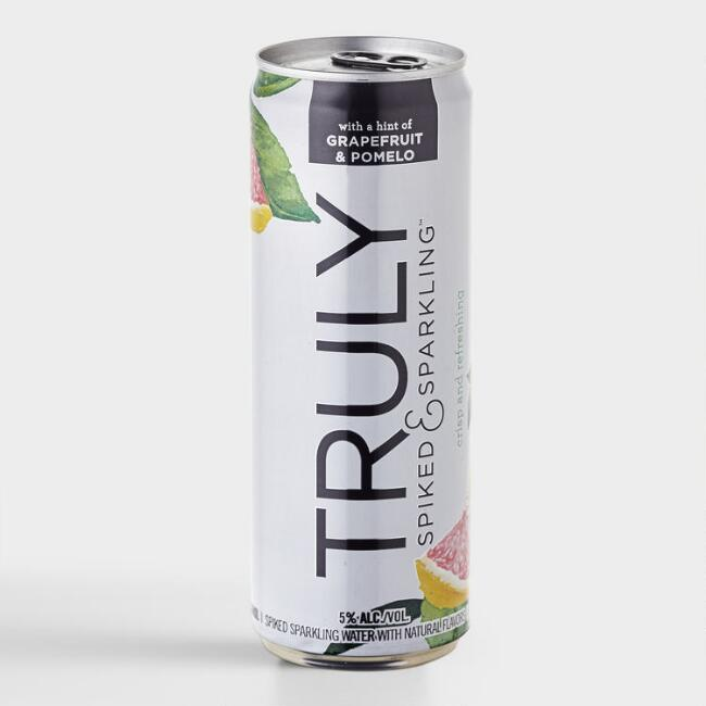 Truly Spiked and Sparkling Grapefruit Hard Seltzer