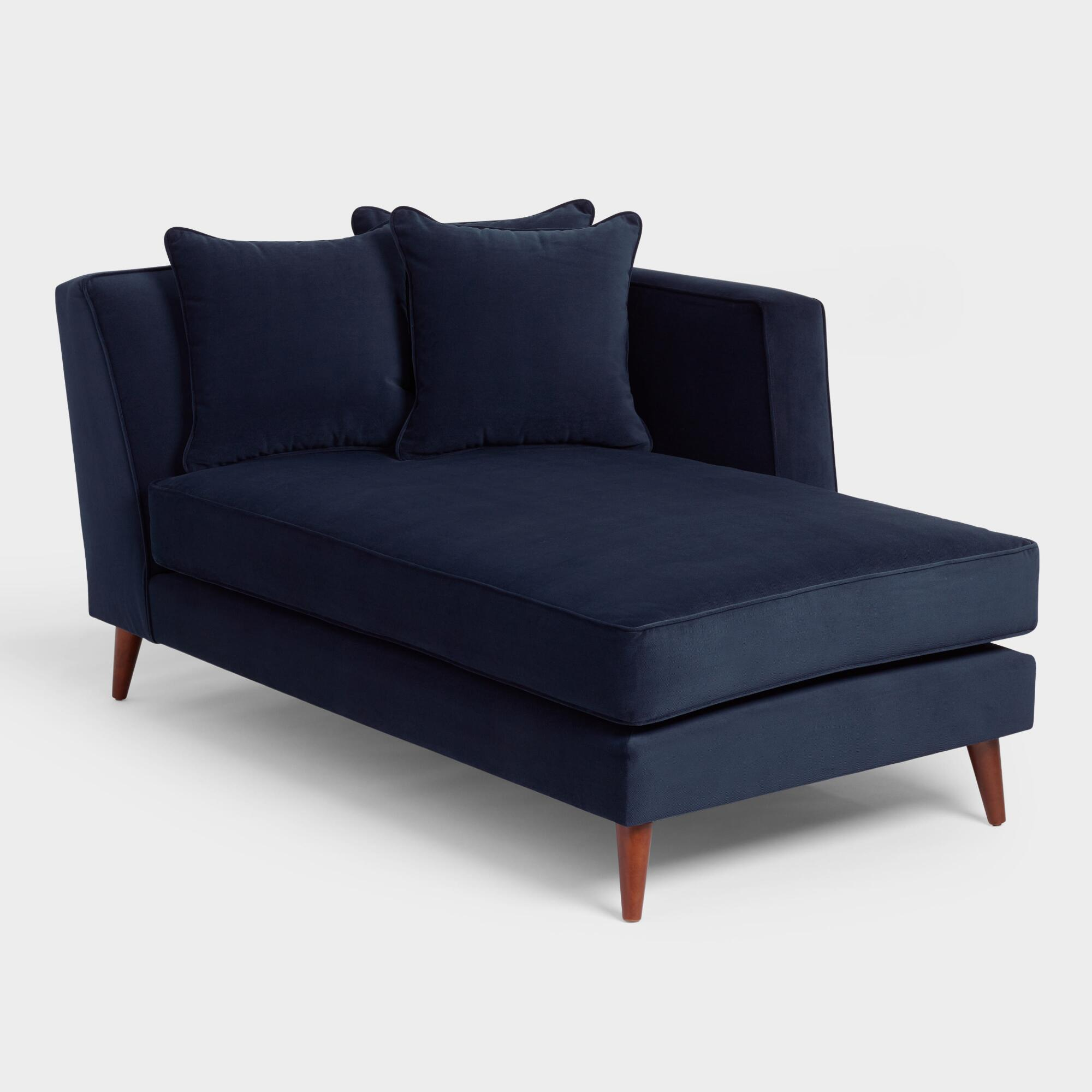 Ink Blue Kadin Chaise