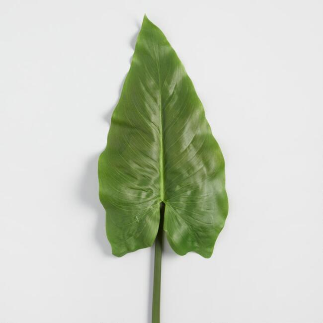 Faux Calla Lily Leaf Stem