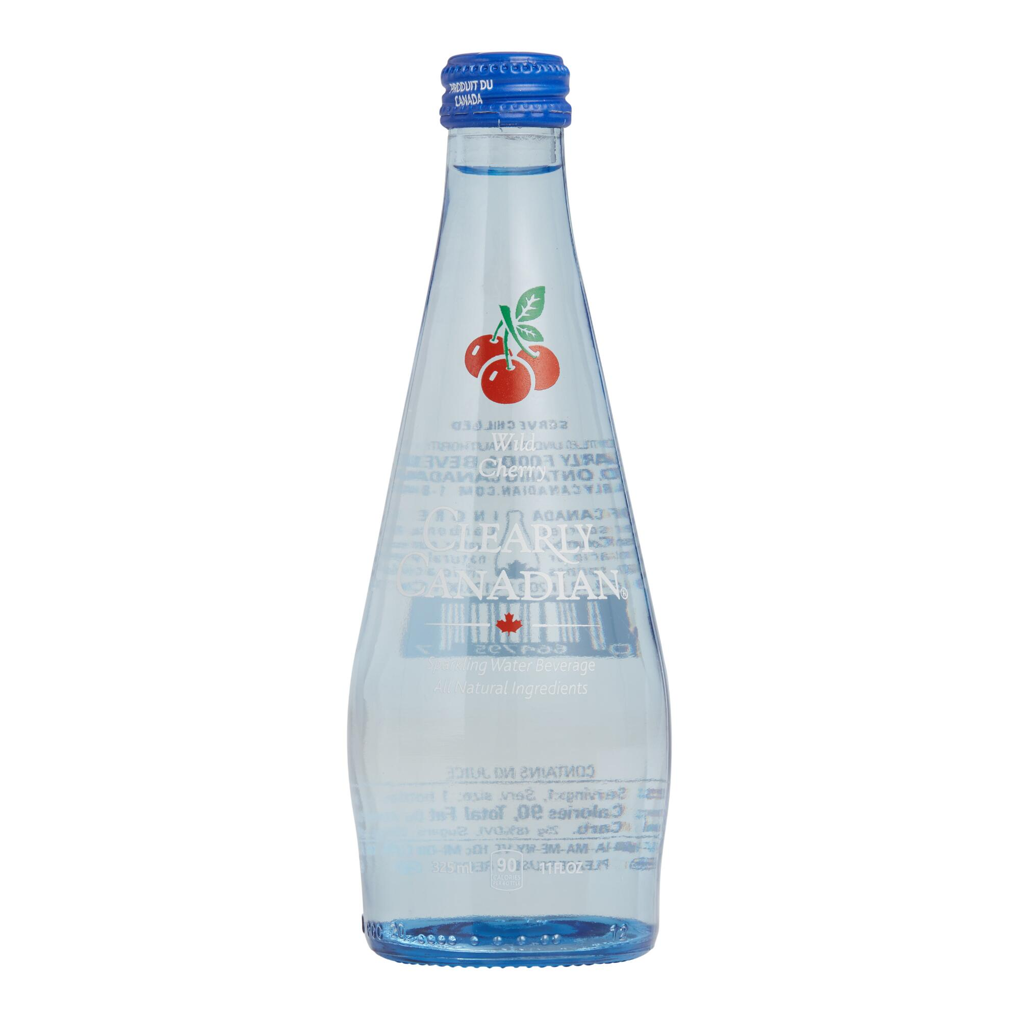Clearly Canadian Wild Cherry Sparkling Water | World Market
