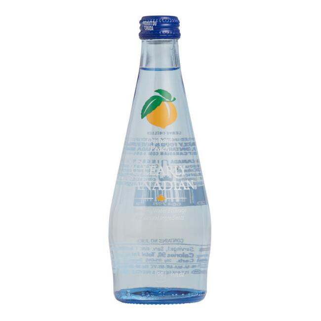 Clearly Canadian Orchard Peach Sparkling Water Set of 12