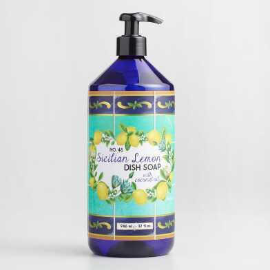 Sicilian Lemon Coconut Oil Dish Soap