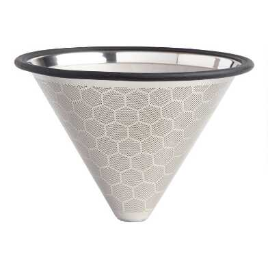 Stainless Steel Cone Pour Over Coffee Filter