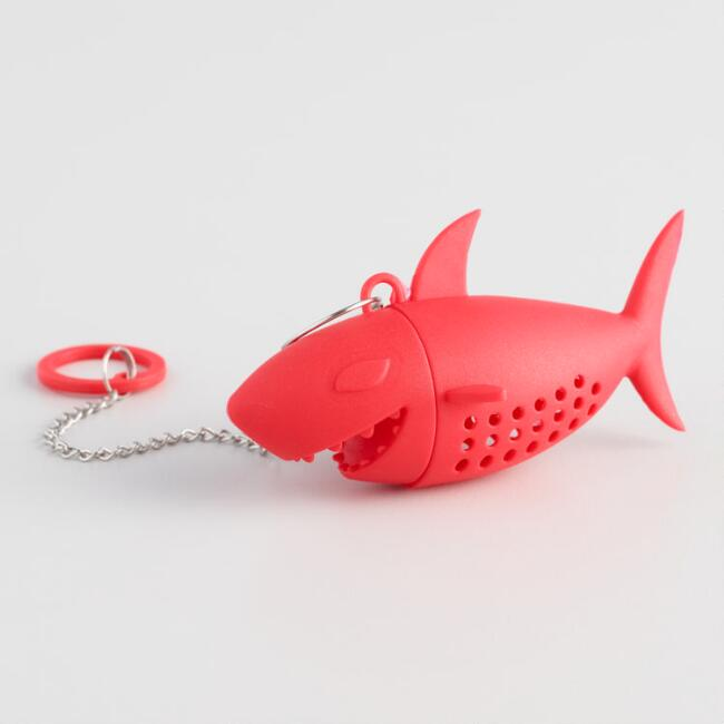 Red Shark Silicone Tea Infuser