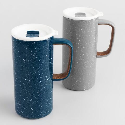 33c252a2d31d Ello Campy Insulated Stainless Steel Travel Mugs Set of 2