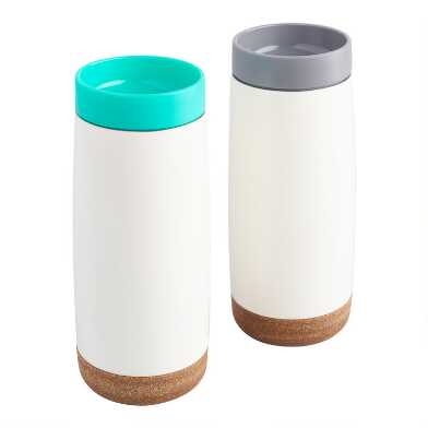 Ello Cole Insulated Stainless Steel Travel Mugs Set of 2