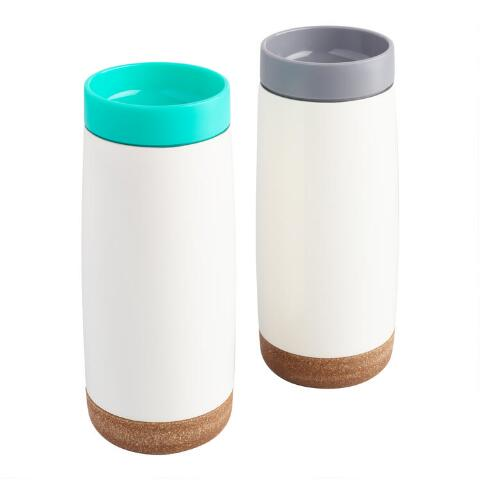 Set Steel Travel Stainless Of 2 Mugs Ello Cole Insulated SVzMqUp