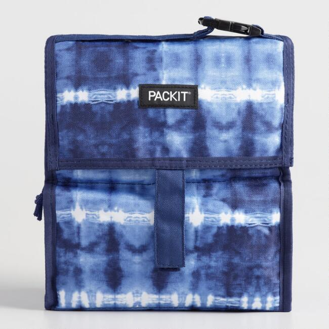 PackIt Tie Dye Freezable Lunch Bag