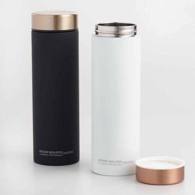 Le Baton Insulated Stainless Steel Travel Mugs Set of 2