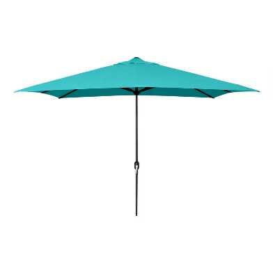 Aruba Turquoise Rectangular Outdoor Umbrella