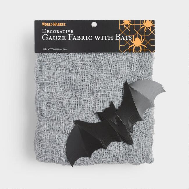 Gauze and Spider Halloween  Decor Kit