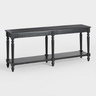 Black Everett Foyer Table