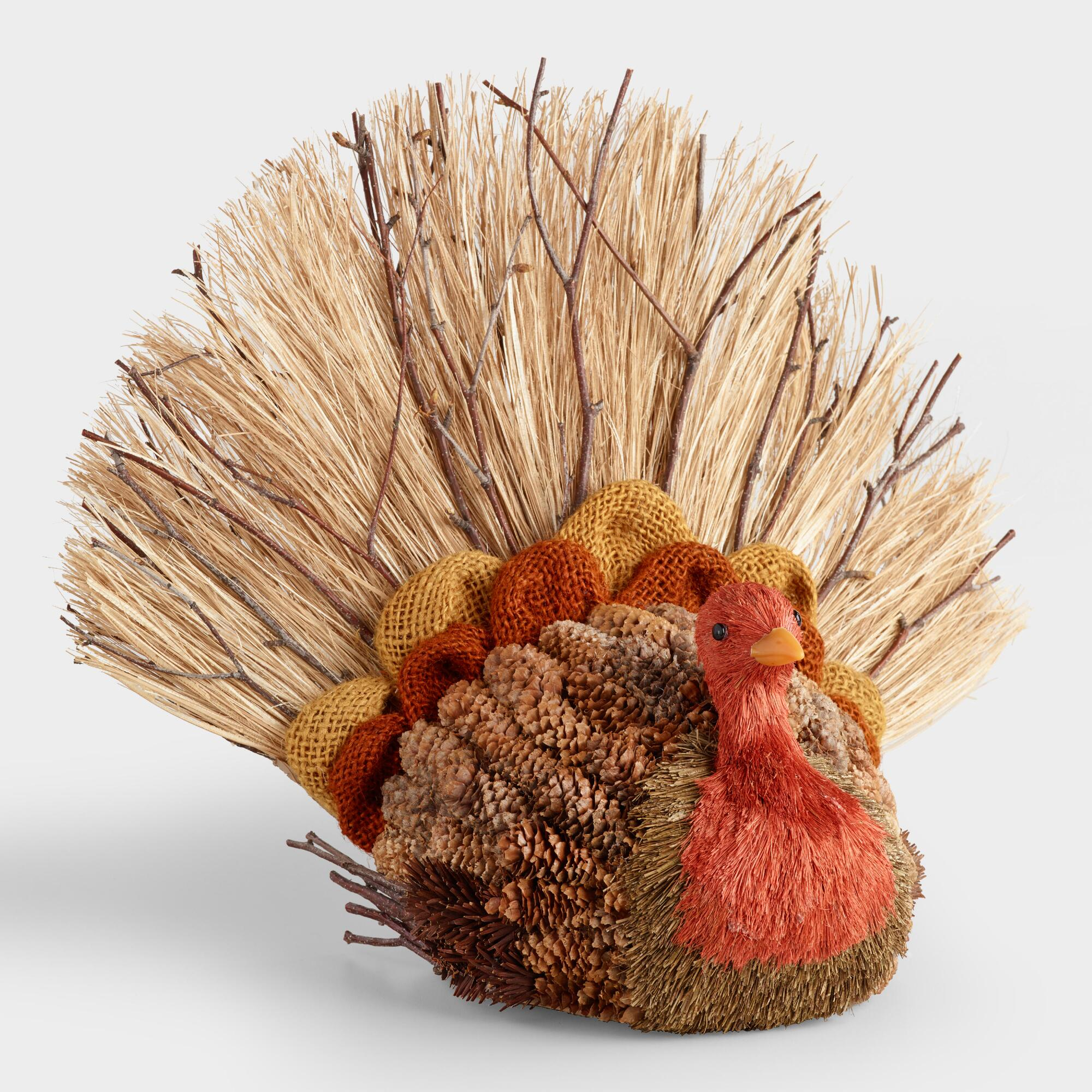 Natural Fiber and Burlap Turkey by World Market