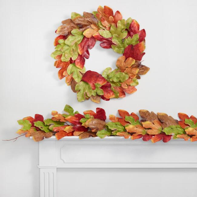 Texas Maple Leaf Decor Collection