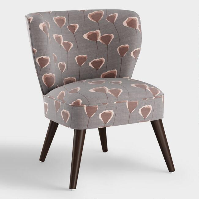 Poppy Taupe Carlye Upholstered Chair
