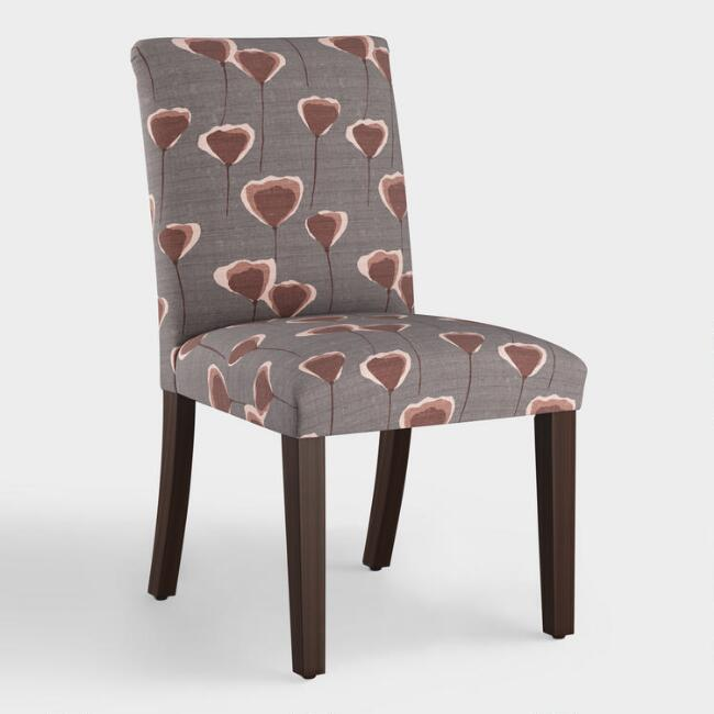 Poppy Taupe Kerri Upholstered Dining Chair