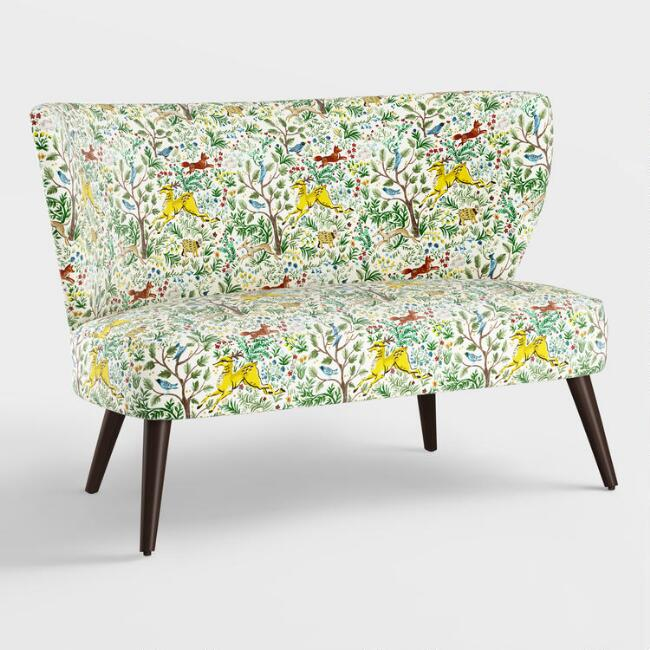 Forest Frolic Kenway Upholstered Loveseat