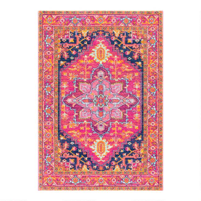 Pink Alessia Area Rug