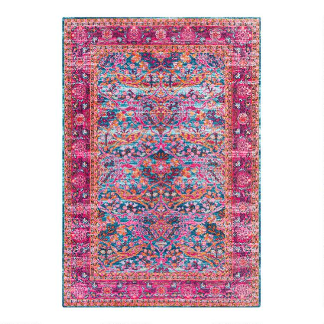 germili b pink flooring compressed rugs depot indoor x ft area n bright home rug the surya