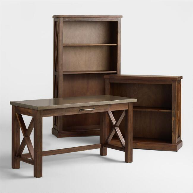 Wood Farmhouse Home Office Collection World Market