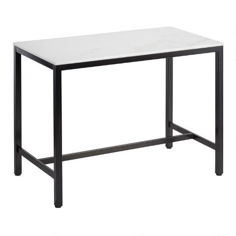 Marble Top Blaine Counter Height Table