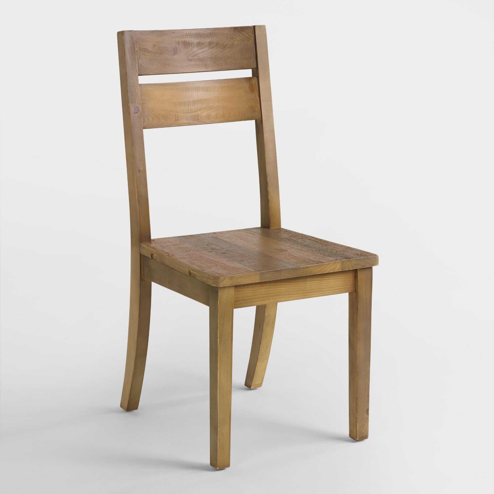 Reclaimed Pine Nolan Dining Chair Set Of 2