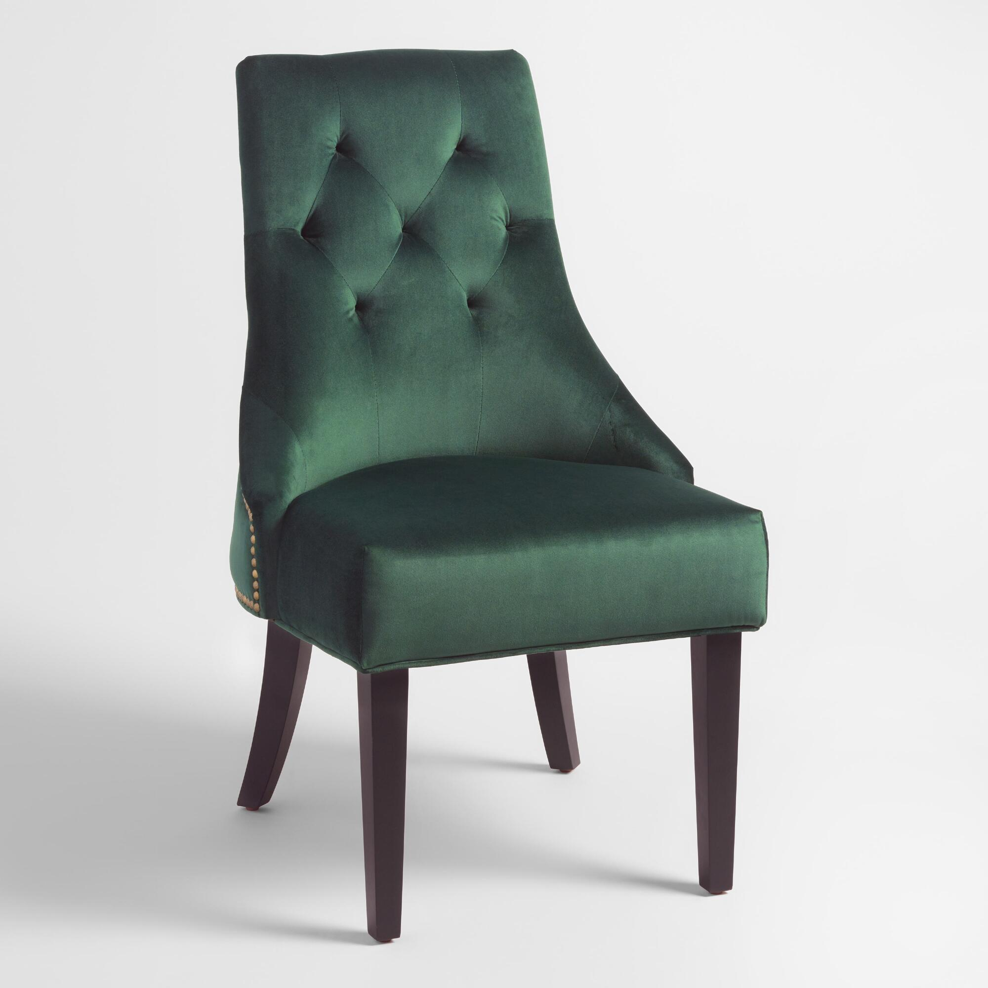 forest green lydia dining chairs set of . green chairs  world market