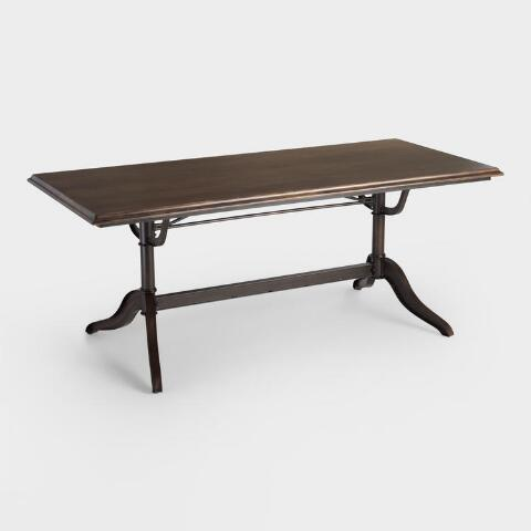 Wood And Metal Caylee Dining Table World Market
