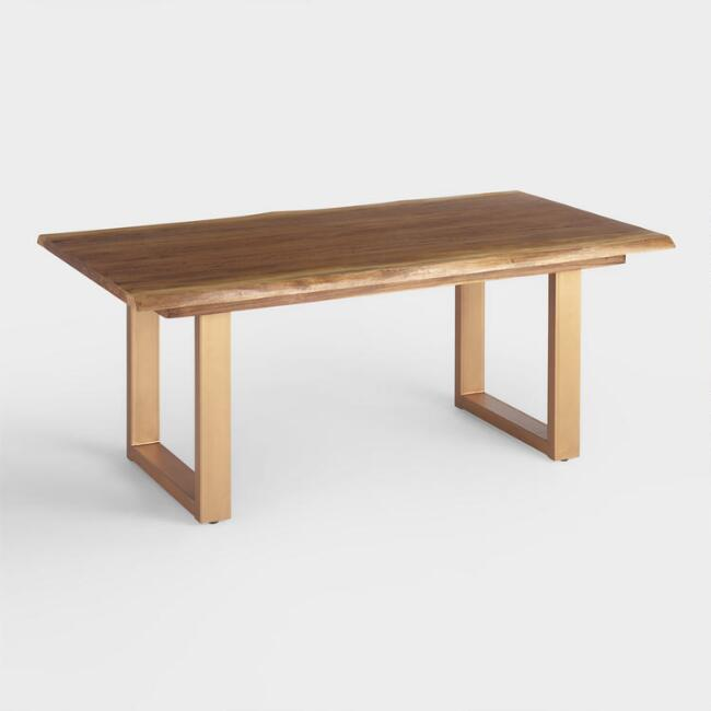 Live Edge Wood Sloan Dining Table
