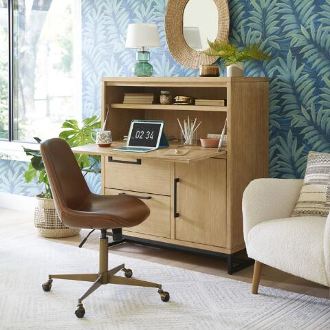 Sensational Bi Cast Leather Molded Tyler Office Chair Interior Design Ideas Inesswwsoteloinfo