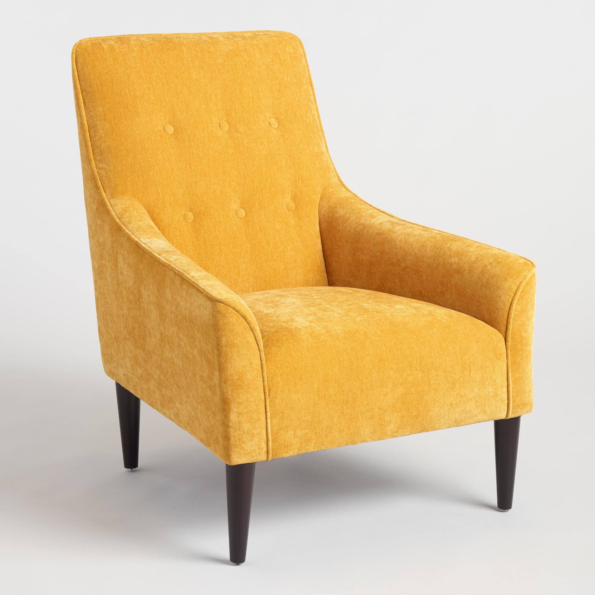 French Yellow Taryn Chair