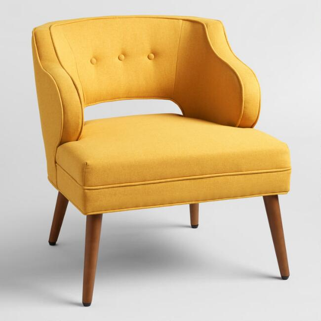 French Yellow Tyley Chair
