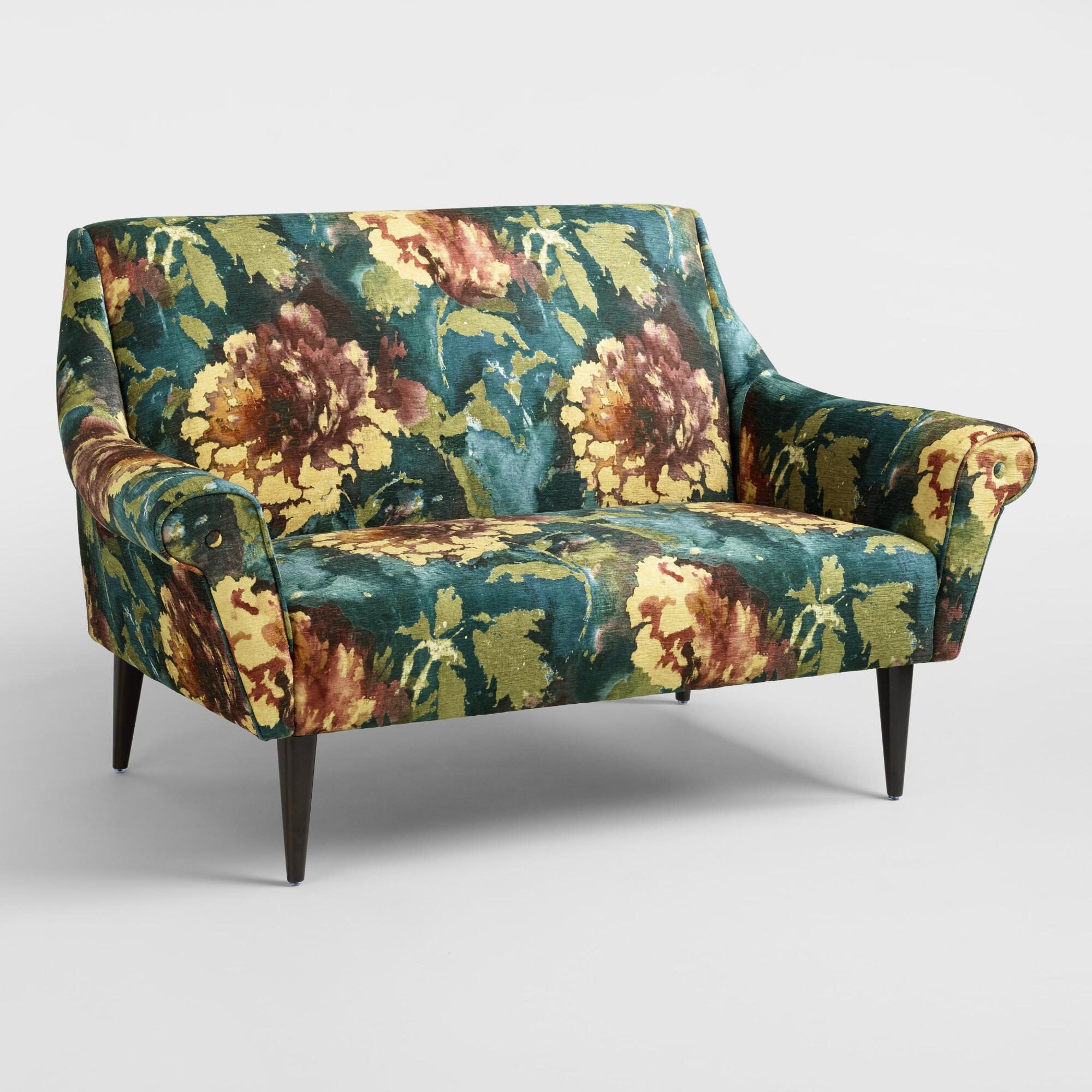 gallery best sofa couch floral loveseat under and tufted loveseats set