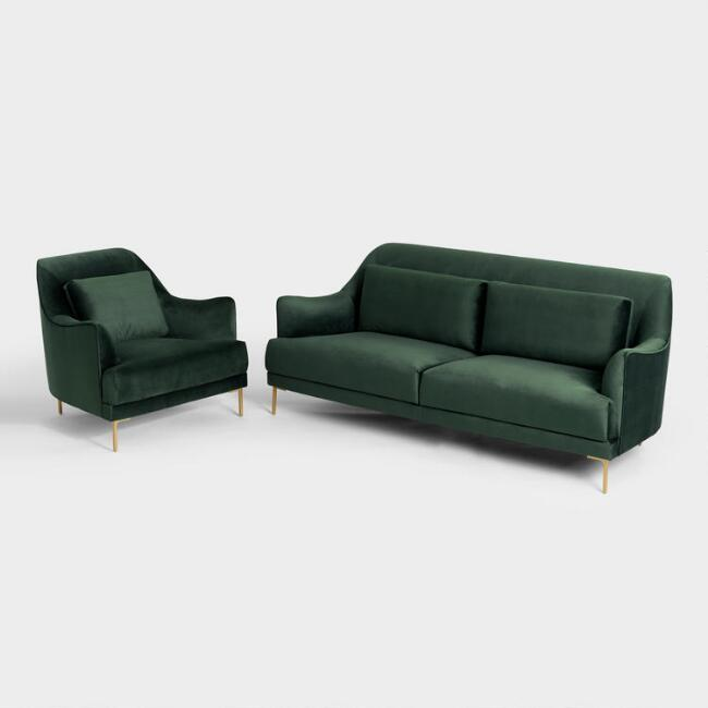 Forest Green Samara Seating Collection