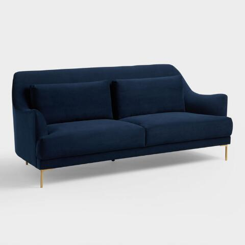 Ink Blue Samara Sofa World Market