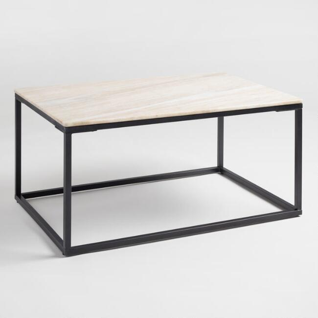 Marble Knox Coffee Table