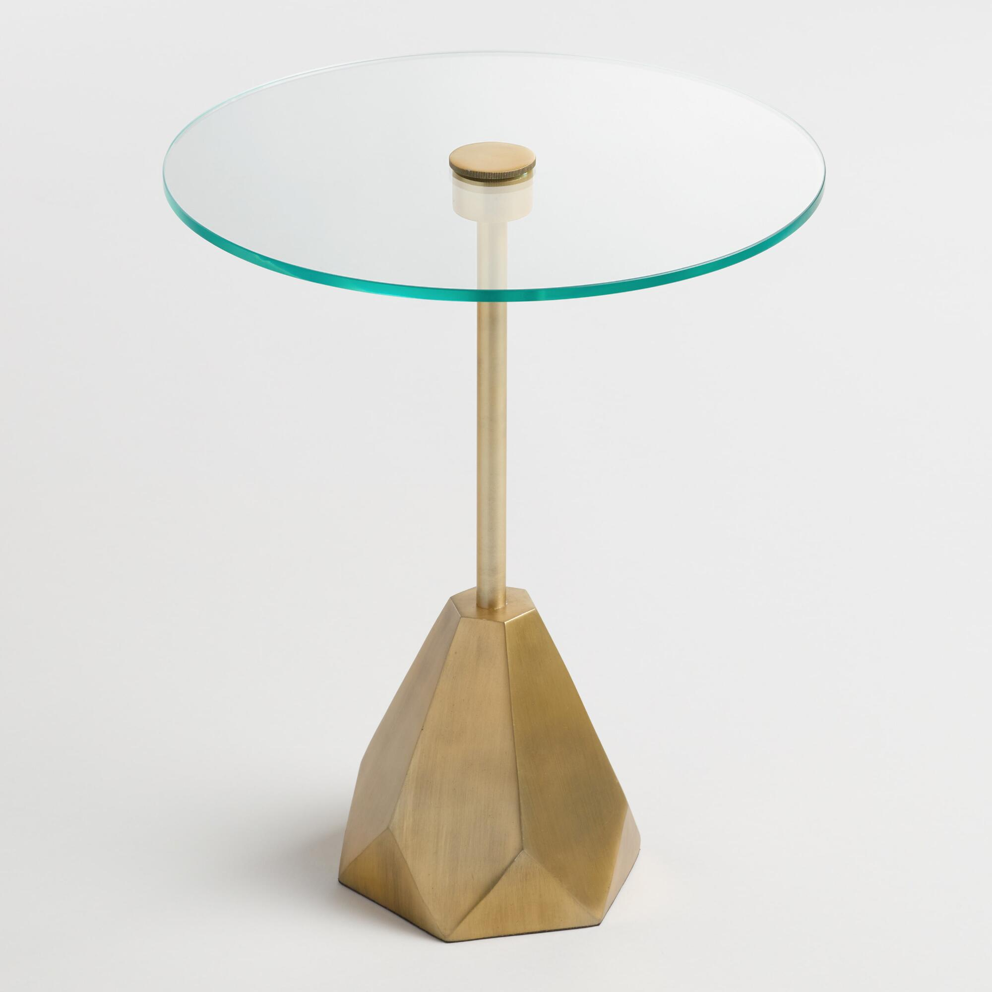 glass lorelei accent table - Glass Sheet Cafe 2015