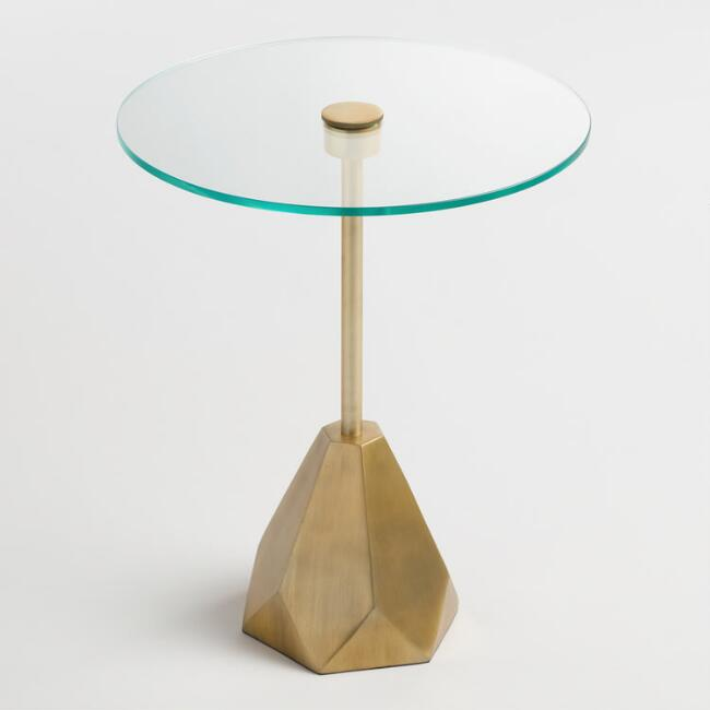 Glass Lorelei Accent Table